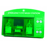 RELIANCE MEDICAL EMERGENCY COMPLETE EYE WASH PANEL WITH MIRROR 919