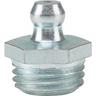 Graisseur hydraulique manuel genre Hydraulic H1 droit zingué DIN 71412