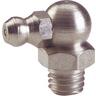 Graisseur hydraulique manuel coudé 90° zingué DIN 71412