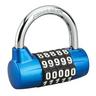GISS-veiligheidshangslot met veranderbare combinatie