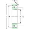 Ball bearing Self-aligning Multi row