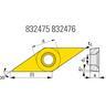 GISS DRAAIWISSELPLAAT VBMT 160404-M TGC240 855485