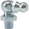 Graisseur hydraulique manuel genre Hydraulic H3 coudé 90° zingué DIN 71412